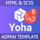 Yoha  – Laravel Dashboard Template - ThemeForest Item for Sale