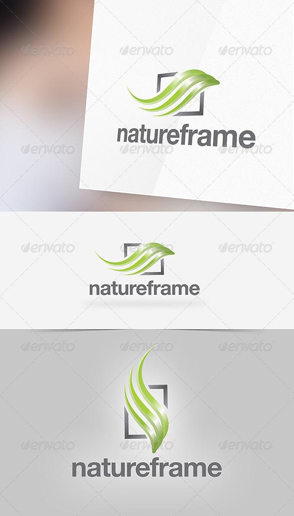 Nature Frame Logo Template