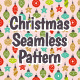 Christmas Balls Seamless Pattern - GraphicRiver Item for Sale