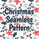 Winter Floral Christmas Pattern - GraphicRiver Item for Sale