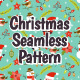 Christmas Characters Seamless Pattern - GraphicRiver Item for Sale