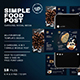 Food Carousel Social Media Pack - GraphicRiver Item for Sale