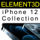 Element3D - iPhone 12 Collection - 3DOcean Item for Sale