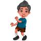 A Happy Boy Cartoon - GraphicRiver Item for Sale