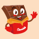 chocolate cartoon character cute design - GraphicRiver Item for Sale