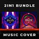 2in1 Music Album Cover - Bundle 24 - GraphicRiver Item for Sale