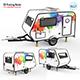 Trailer Travel 3D Printing Model - 3DOcean Item for Sale