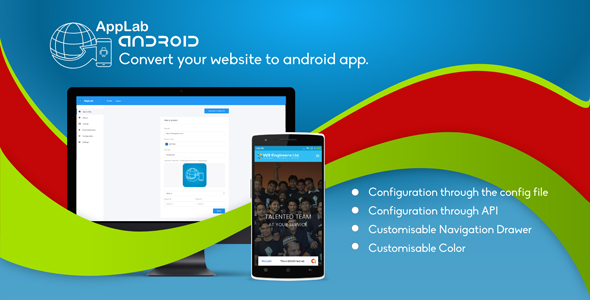 Applab - A Web to Android App Generator
