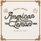 American Lemon - GraphicRiver Item for Sale