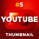 50 Youtube Thumbnail - GraphicRiver Item for Sale