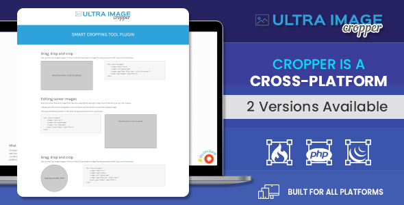Ultra Image Cropper –Smart Cropping Tool Plugin built on PHP (CorePHP and Codeigniter) Script