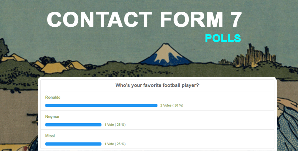 Contact Form 7 Polls