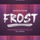 Frost SVG Font - GraphicRiver Item for Sale