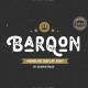 Barqon | Display Monoline Font - GraphicRiver Item for Sale
