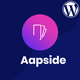 Aapside - App Landing WordPress Theme - ThemeForest Item for Sale
