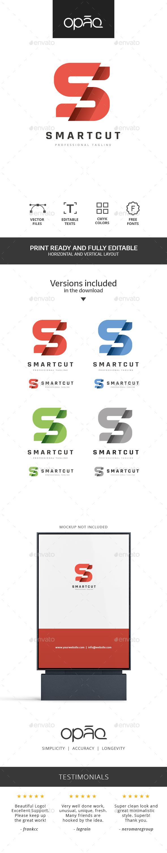 S Letter Sliced Logo