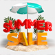"""PSD Background """" Summer Concept """" - GraphicRiver Item for Sale"""