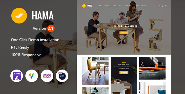 Review: Hama - Store Furniture Home WooCommerce WordPress Theme free download Review: Hama - Store Furniture Home WooCommerce WordPress Theme nulled Review: Hama - Store Furniture Home WooCommerce WordPress Theme