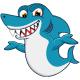 Smile Shark Cartoon - GraphicRiver Item for Sale