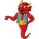 Genie Devil Cartoon - GraphicRiver Item for Sale
