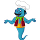 Chef Genie Cartoon - GraphicRiver Item for Sale