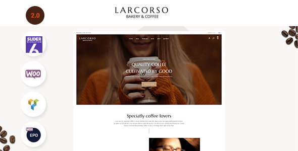 Review: Larcorso - Coffee Shop WooCommerce Theme free download Review: Larcorso - Coffee Shop WooCommerce Theme nulled Review: Larcorso - Coffee Shop WooCommerce Theme