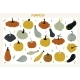 Set with Hand Drawn Colorful Doodle Pumpkins - GraphicRiver Item for Sale
