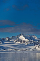 Snowcapped Mountains, Oscar II Land, Arctic, Svalbard, Norway - PhotoDune Item for Sale