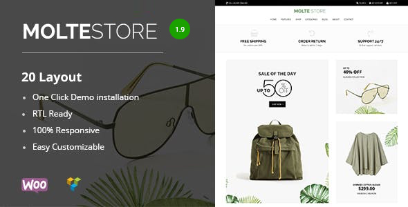 Review: Molte Fashion and Food WooCommerce Theme free download Review: Molte Fashion and Food WooCommerce Theme nulled Review: Molte Fashion and Food WooCommerce Theme