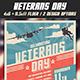 Veterans Day Celebration Flyer - GraphicRiver Item for Sale