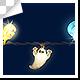Halloween Lighting String Bulbs Frame  4 pattern - VideoHive Item for Sale