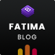 Fatima - Creative Personal Blog Bootstrap 4 Template - ThemeForest Item for Sale