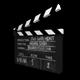 Film Slate Clapperboard - 3DOcean Item for Sale