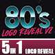 80's Logo Reveal v2 - VideoHive Item for Sale