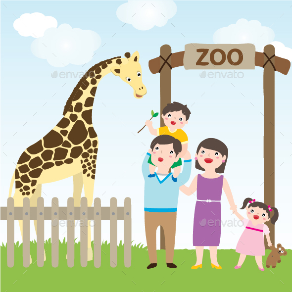 Family Visit Zoo