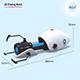 Portal Gun 3D Printing Model - 3DOcean Item for Sale