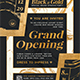 Grand Opening Flyer Template V3 - GraphicRiver Item for Sale