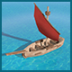 Low Poly Sail Boat - 3DOcean Item for Sale