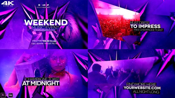 Weekend Music Event 4K