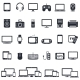 Set of Smart Devices and Gadgets - GraphicRiver Item for Sale