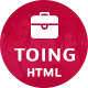 Toing – Portfolio HTML Template - ThemeForest Item for Sale