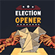 Election Opener - VideoHive Item for Sale