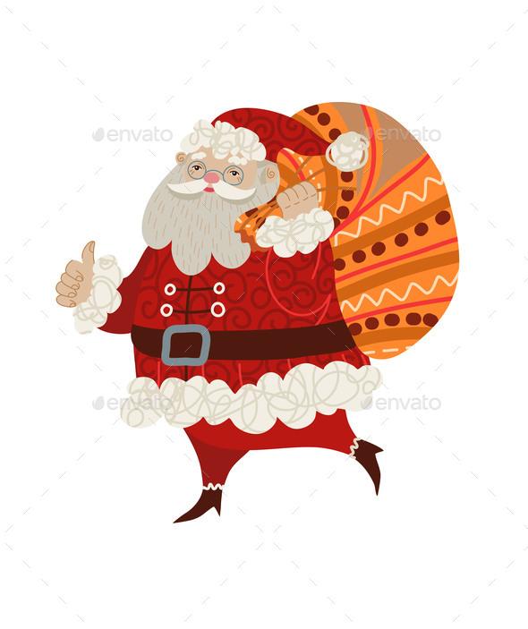 Santa Claus Isolated
