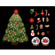 Christmas Tree with Options for Decorations - GraphicRiver Item for Sale