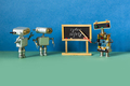 Artificial intelligence machine learning and robotics education concept. - PhotoDune Item for Sale