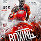Boxing Tournament Flyer Template - GraphicRiver Item for Sale