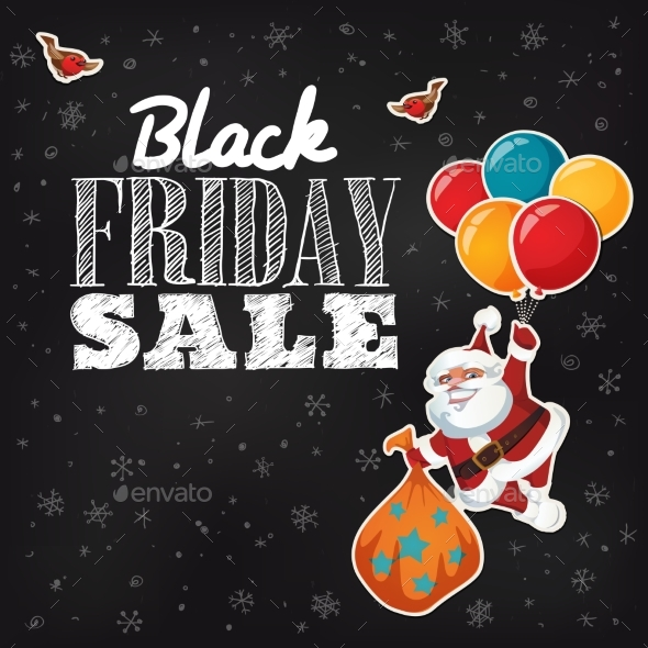 Black Friday Promo Sale Shopping Poster