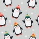 Childish Seamless Pattern with Cute Penguin - GraphicRiver Item for Sale