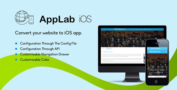 Applab - A Web to iOS App Generator