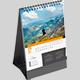 Desk Calendar 2022 Vertical Planner - GraphicRiver Item for Sale